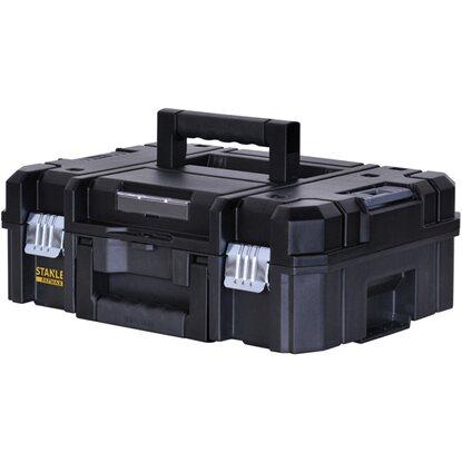 stanley fatmax aufbewahrungssystem tstak ii werkzeugkoffer mit schaumstoffeinlag kaufen bei obi. Black Bedroom Furniture Sets. Home Design Ideas