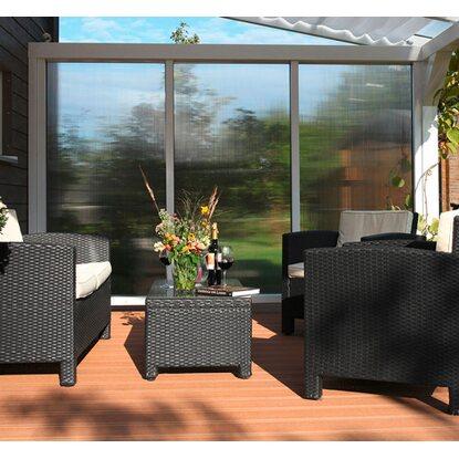 skan holz polycarbonat seitenwand f r terrassen berdachung 250 239 cm tiefe kaufen bei obi. Black Bedroom Furniture Sets. Home Design Ideas