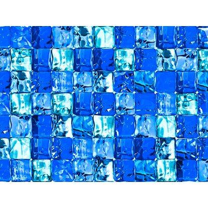 D c fix klebefolie ice cube blau transparent 45 cm x 150 for Klebefolie blau