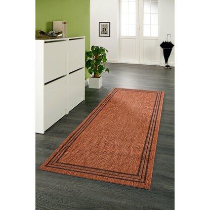 obi teppich tiana braun 80 cm x 180 cm kaufen bei obi. Black Bedroom Furniture Sets. Home Design Ideas
