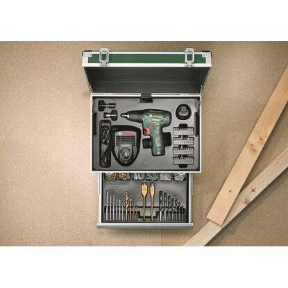 bosch akku bohrschrauber psr 10 8 li toolbox kaufen bei obi. Black Bedroom Furniture Sets. Home Design Ideas