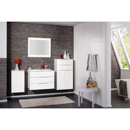 fackelmann h ngeschrank bianco 40 5 cm kara wei anschlag links kaufen bei obi. Black Bedroom Furniture Sets. Home Design Ideas