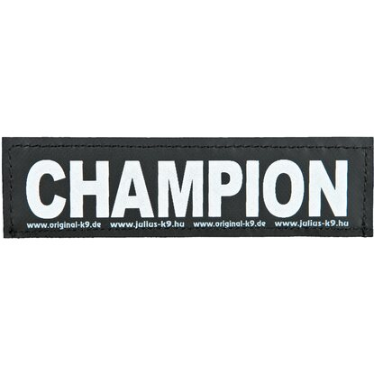 Julius K-9 Klettsticker L Champion