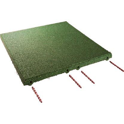 fallschutzplatte elastikmattegr n 50 cm x 50 cm x 3 cm. Black Bedroom Furniture Sets. Home Design Ideas