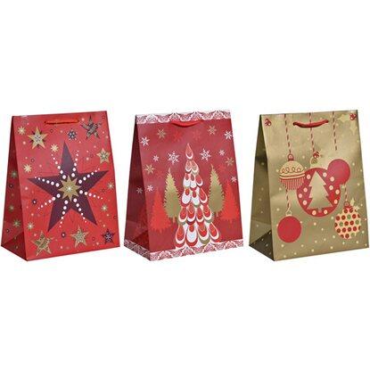 geschenktasche weihnachten verschiedene varianten 32 5 cm. Black Bedroom Furniture Sets. Home Design Ideas