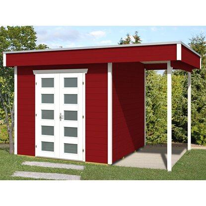 holz gartenhaus venlo 2 schwedenrot b x t 380 cm x 250 cm. Black Bedroom Furniture Sets. Home Design Ideas