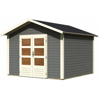 metall gartenhaus mit boden gartenhaus aufbauen with. Black Bedroom Furniture Sets. Home Design Ideas