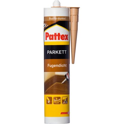 Pattex Parkett Fugendicht Buche Dunkel 310 ml