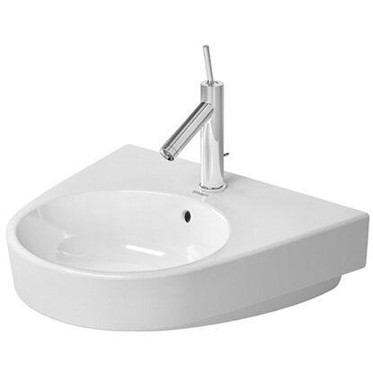 Duravit Handwaschbecken Starck 2 55 cm Weiß 1 Hahnloch WonderGliss ...