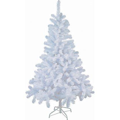 k nstlicher weihnachtsbaum 150 cm wei kaufen bei obi. Black Bedroom Furniture Sets. Home Design Ideas