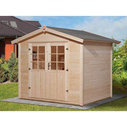 weka holz gartenhaus ravenna a bxt 240 cm x 205 cm kaufen bei obi. Black Bedroom Furniture Sets. Home Design Ideas