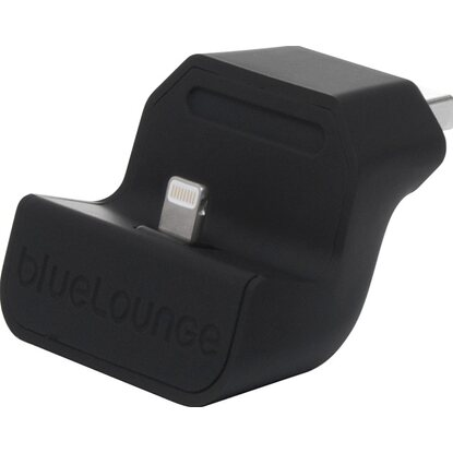 Bluelounge Ladeadapter Mini Dock Lightning Schwarz