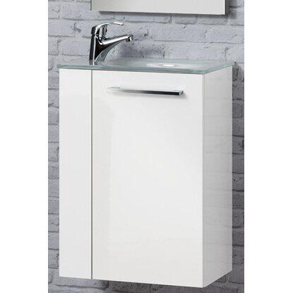 Gästewaschbecken fackelmann gäste waschbecken 45 cm weiß kaufen bei obi