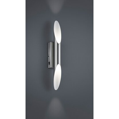 Trio LED-Wandleuchte Nickel matt 2-flammig EEK: A++ - A