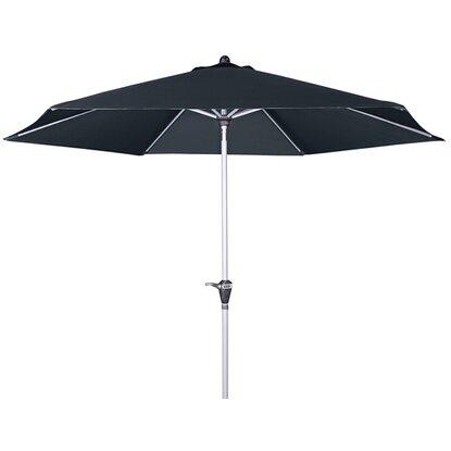 Doppler sonnenschirm active auto tilt 320 cm anthrazit for Ikea sonnenschirmstander