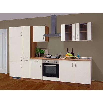 flex well exclusiv k chenzeile sienna 300 cm creme zwetschge nachbildung kaufen bei obi. Black Bedroom Furniture Sets. Home Design Ideas