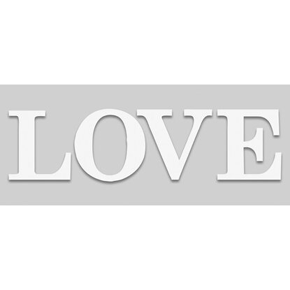 Eurographics Sticker Art Words Love I