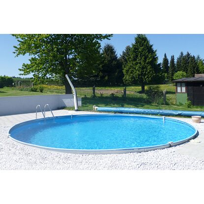 Summer fun stahlwand pool set bahrain einbaubecken 350 for Obi pool set