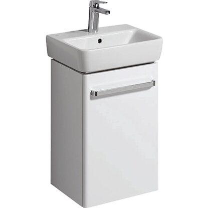 Geberit Waschbeckenunterschrank 40 Cm Renova Compact Mit 1 Tur Weiss
