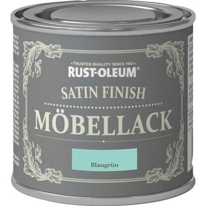 rust oleum kreidefarbe m bellack satin finish blaugr n seidengl nzend 125 ml kaufen bei obi. Black Bedroom Furniture Sets. Home Design Ideas