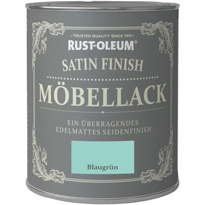 rust oleum kreidefarbe m bellack satin finish blaugr n. Black Bedroom Furniture Sets. Home Design Ideas