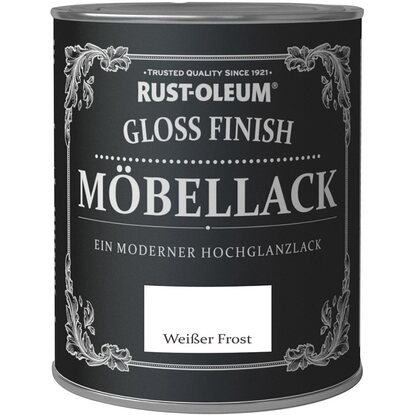 rust oleum kreidefarbe m bellack gloss finish wei er frost. Black Bedroom Furniture Sets. Home Design Ideas