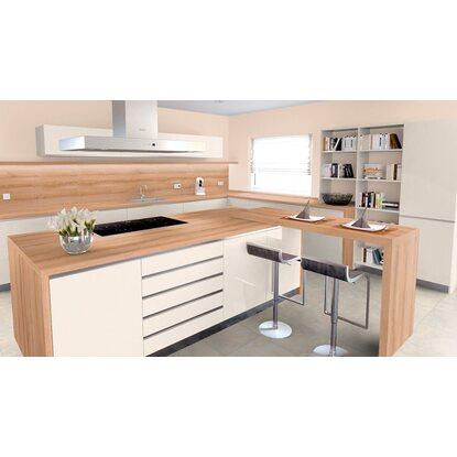 arbeitsplatte 65 cm x 3 9 cm esche messina es295pof kaufen bei obi. Black Bedroom Furniture Sets. Home Design Ideas