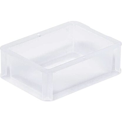 OBI Eurobox-System Tauro Box Vollwand 20 x 15 x 7 cm Transparent