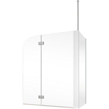 schulte badewannenaufsatz 2 teilig mit seitenwand 114 5 cm. Black Bedroom Furniture Sets. Home Design Ideas