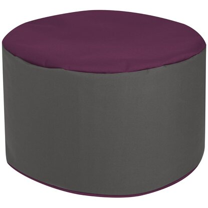 Sitting Point Sitzhocker DotCom Aubergine