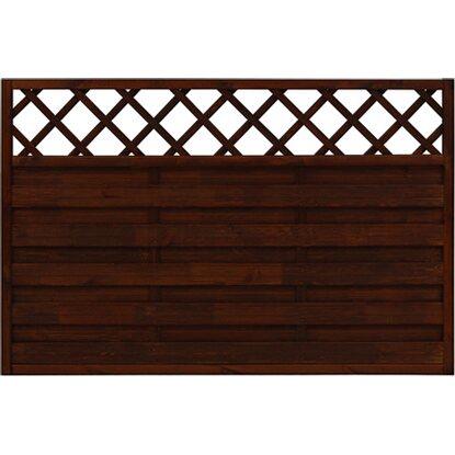 sichtschutzzaun element country braun 120 cm x 180 cm kaufen bei obi. Black Bedroom Furniture Sets. Home Design Ideas
