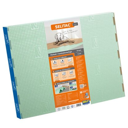 Selitac Parkett- /Laminatunterlage 5 mm 5 m²