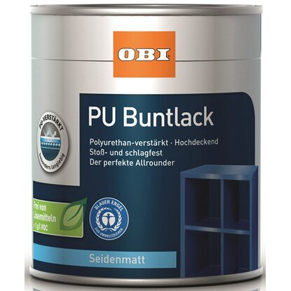 OBI PU Buntlack Coffee seidenmatt 375 ml