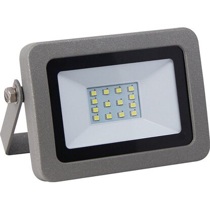 LED-Strahler Flare 10 W Silber EEK: A+