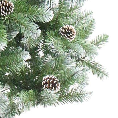 k nstlicher weihnachtsbaum 120 cm gefrostet kaufen bei obi. Black Bedroom Furniture Sets. Home Design Ideas