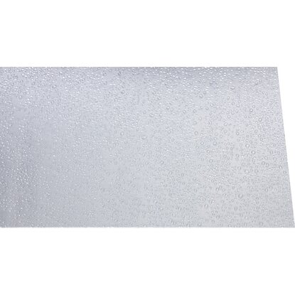 "Polystyrol-Platte 2,5 mm ""Tropfen"" Transparent 1000 mm x 1000 mm"