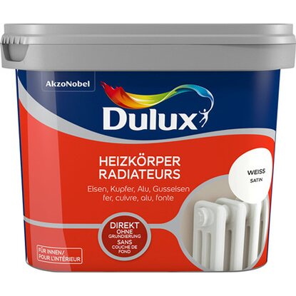 Dulux Fresh Up Heizkörperlack Satin Weiß 750 ml