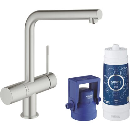 Grohe Starter Kit Blue Minta Pure Supersteel