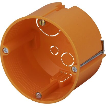 Hohlwanddose Ø 68 mm x 47 mm Orange IP30