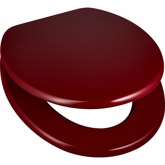obi wc sitz pollino beerenfarben mit absenkautomatik im obi online shop. Black Bedroom Furniture Sets. Home Design Ideas