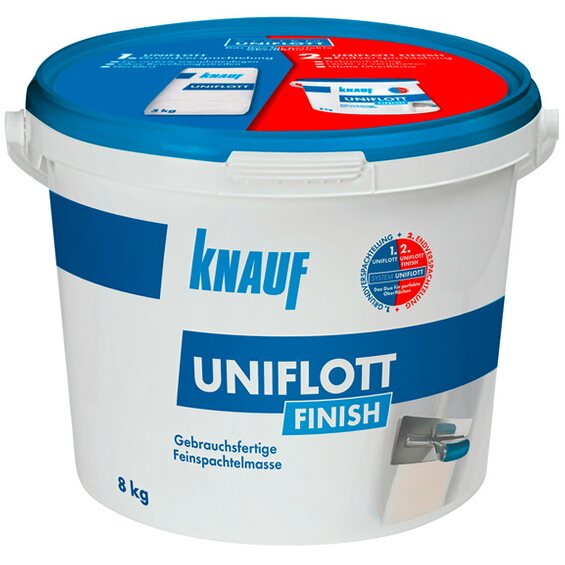 knauf uniflott finish 8 kg im obi online shop. Black Bedroom Furniture Sets. Home Design Ideas