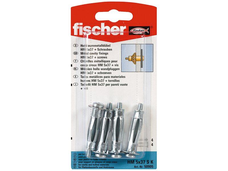 Fischer Hohlraum Metalldubel Hm 5 X 37 Sk Mit Schraube 4 St Kaufen