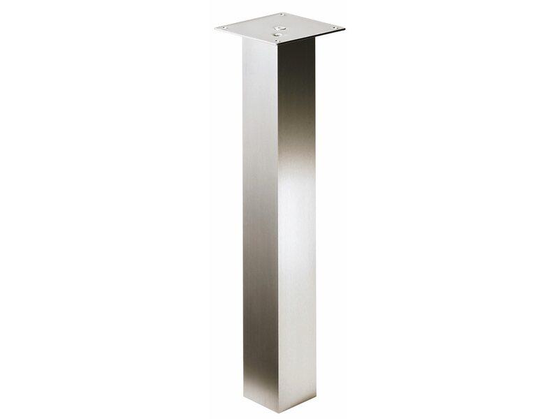 hettich tischbein 100 mm x 100 mm x 700 aluminium kaufen bei obi. Black Bedroom Furniture Sets. Home Design Ideas