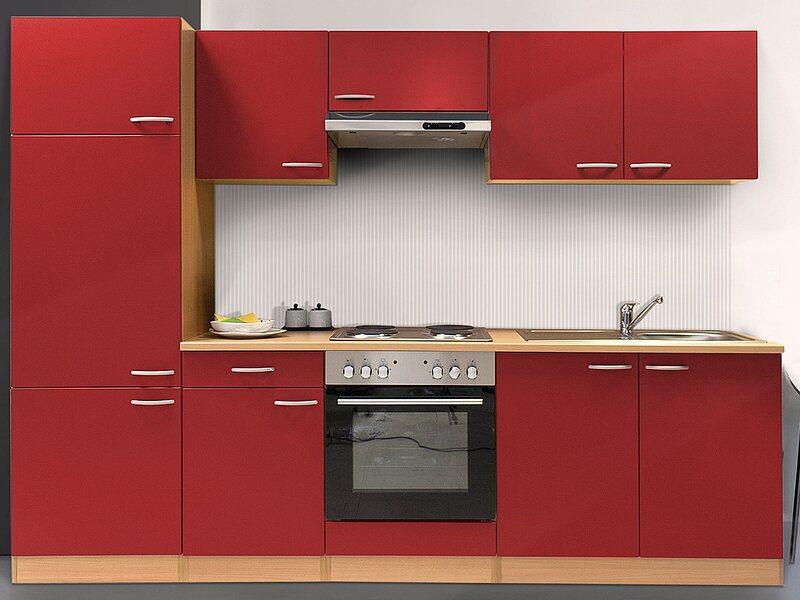 Günstige küchenblöcke mit elektrogeräten  Küchenzeilen & Miniküchen günstig online kaufen bei OBI