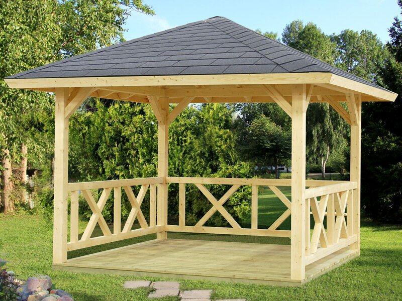 Pavillons für Ihren Garten – Holz Barsch
