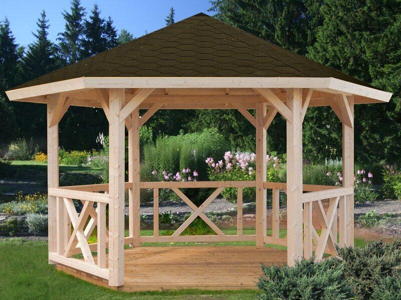 Metall Garten-Pavillon