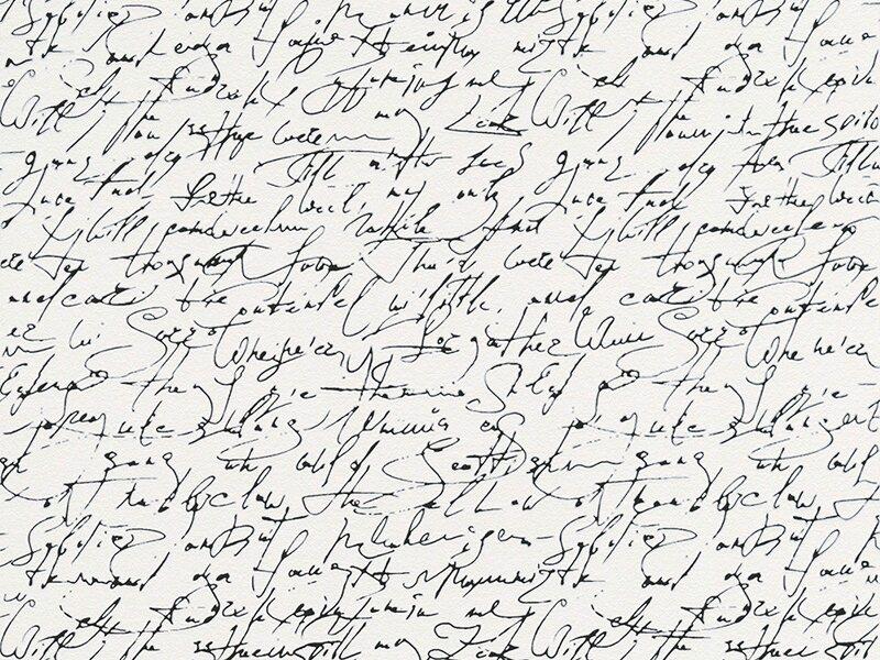 Schöner Wohnen-Kollektion Vliestapete Schrift Schwarz kaufen bei OBI