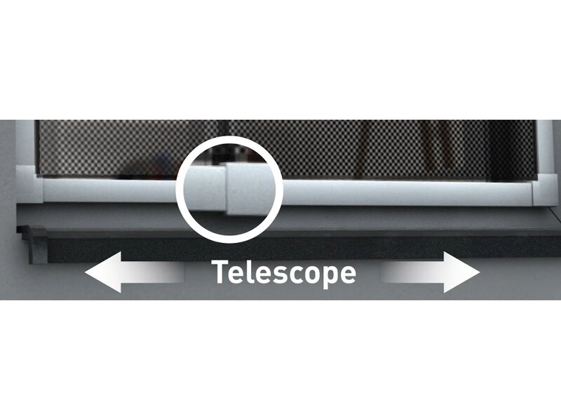 Obi alu teleskop fensterrahmen 120 cm x 140 cm weiß kaufen bei obi