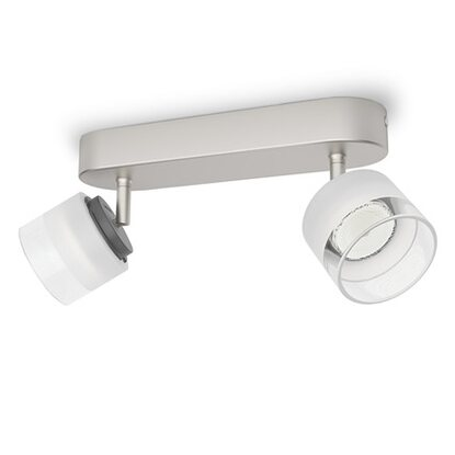 Philips myLiving LED-Spot Fremont Matt-Verchromt 4 W