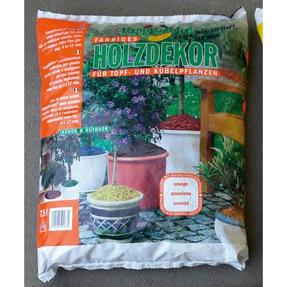 Happygarden Holzdekor Orange 7,5 l